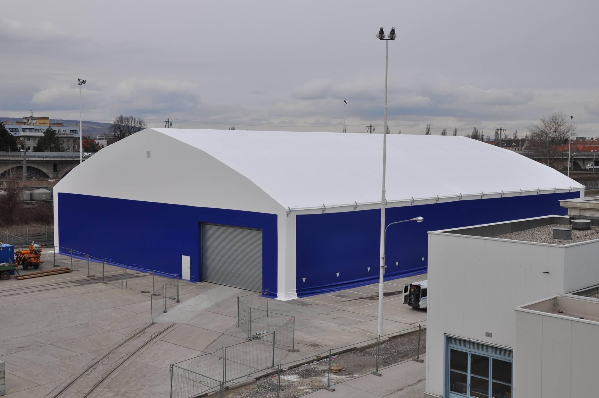 NIMBUS - Die Leichtbau-Satteldachhalle